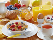 With our bed and breakfast accommodation we offer a choice of breakfast, from a light continental breakfast of Croissants and pastries, to a traditional Full English, both accompanied with fresh juice, tea or coffee