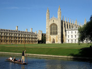 Visit Cambridge, including the beautiful Kings College