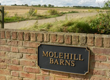 Molehill Barns is ideally placed for those visiting Cambridge, Stevenage, Sandy and their surrounding areas